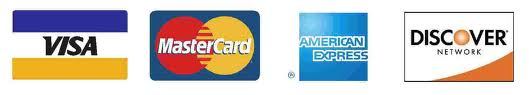 Art & Sons Accepts all Major Credit Cards